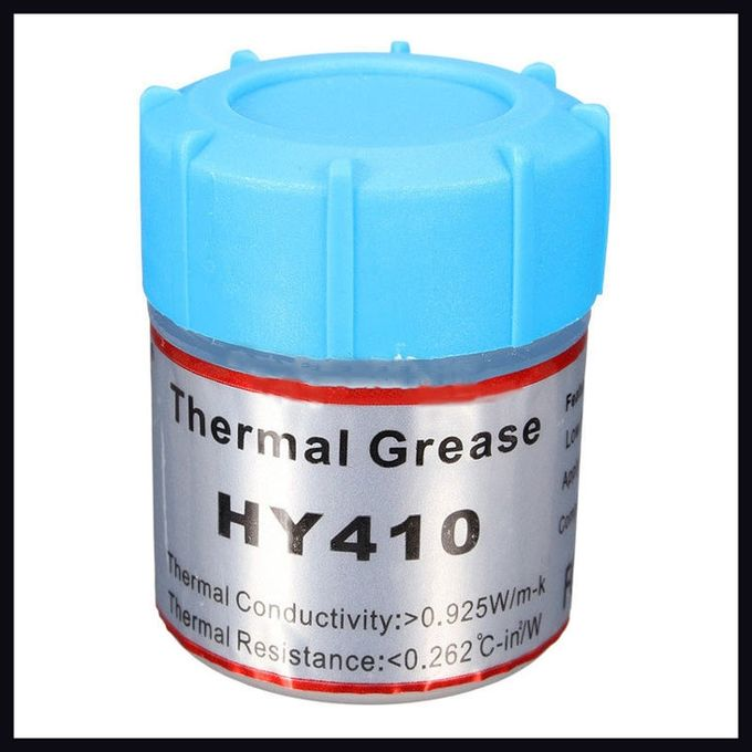 Compound 0.925W//m-k HY410 5 x White Heat Thermal Grease Silicone Paste
