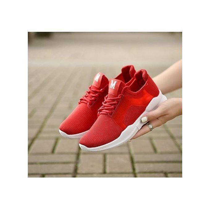 product_image_name-Fashion-Male And Female Pure Color Leisure Sports Fly Looms To Breathe Lovers' Shoes-2