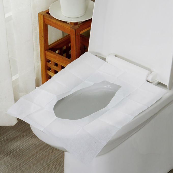 Groovy Hailichange 10 Pcs Sheets Pocket Size Flushable Disposable Toilet Seat Covers As The Picture Shown Alphanode Cool Chair Designs And Ideas Alphanodeonline