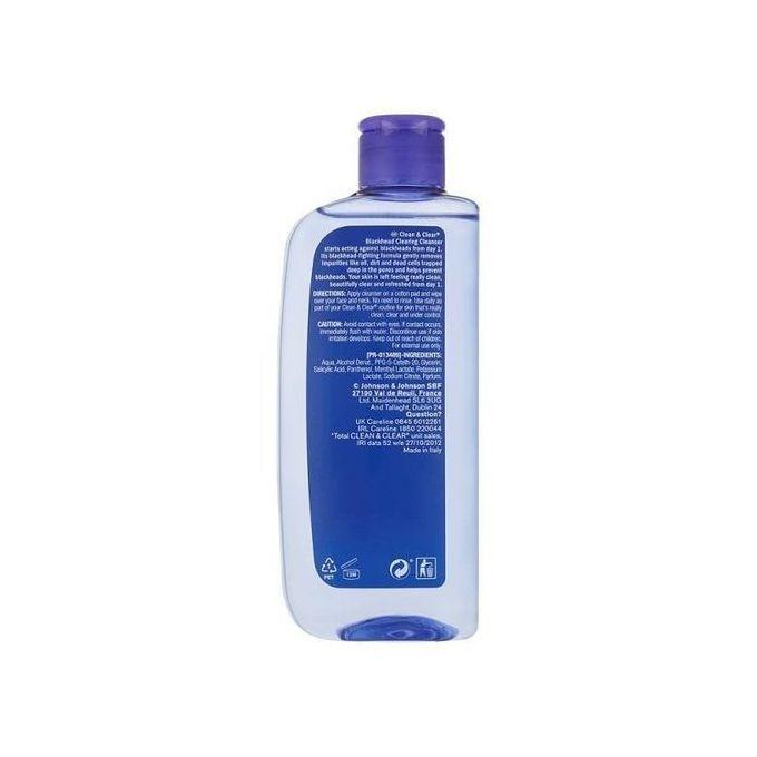 Clean & Clear Blackhead Clearing Cleanser - 200 ml @ Best ...