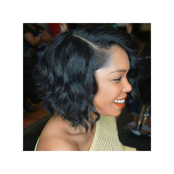 Short Wigs for Women Black Color Natural