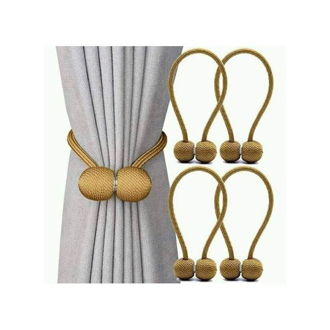 Generic Magnetic Curtain Holders(Gold) @ Best Price Online