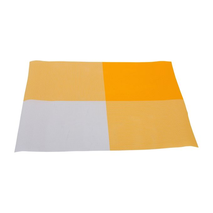 Generic 1pc Pvc Table Mat 45cm X 32cm Yellow Best