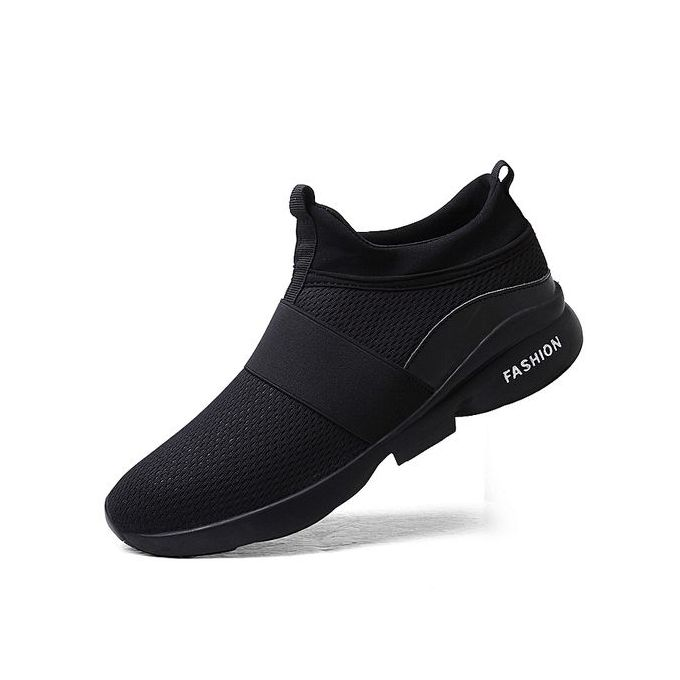 Shoes Mesh Casual Sneakers-black