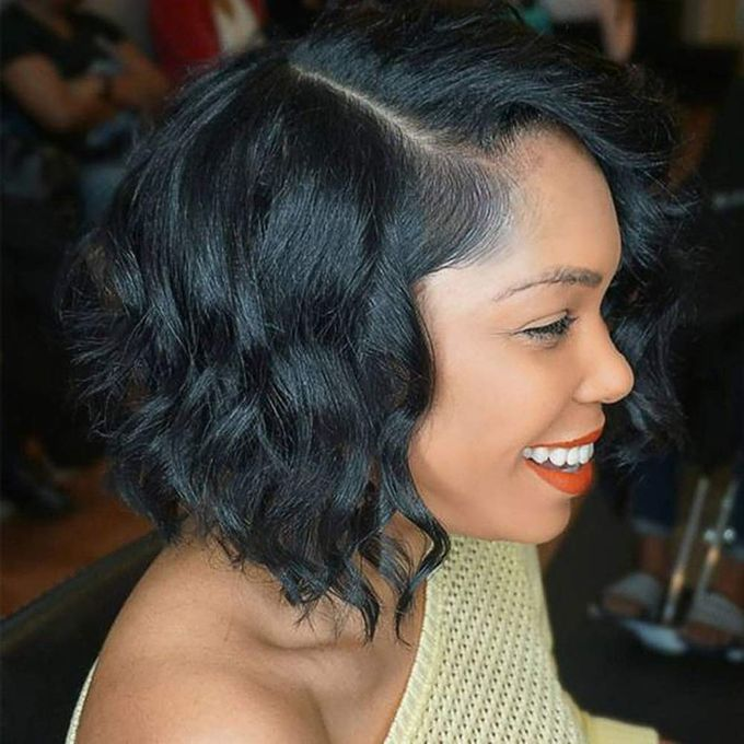 Short Wigs for Women Black Color Natural