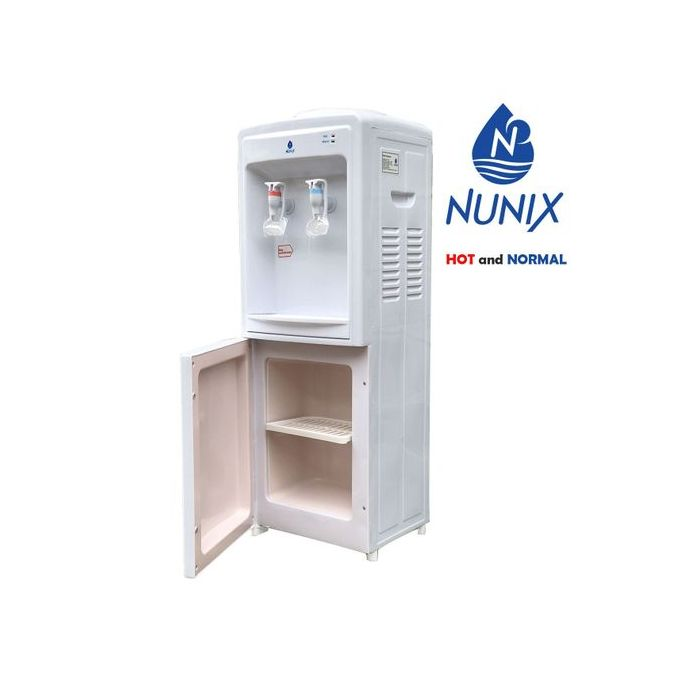 Nunix Water Dispenser 85-95oC in Kenya Hot and Normal Free Standing Water Dispenser-White