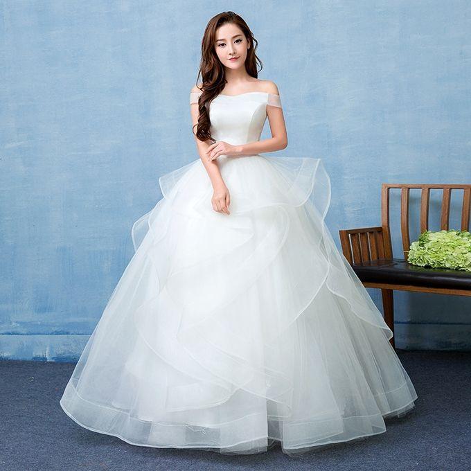 AFankara Simple Premium Wedding Gowns @ Best Price Online