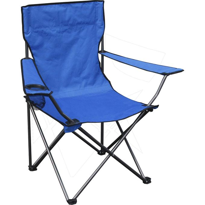 Wondrous Outdoor Garden Camping Chair Portable Folding Chair With Arm Rest Cup Holder And Carrying And Storage Bag Blue Pdpeps Interior Chair Design Pdpepsorg