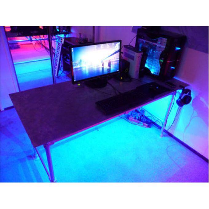 Gaming Computer Desk Led Light Kit Home Table Lighting Remote Control Usb Supply