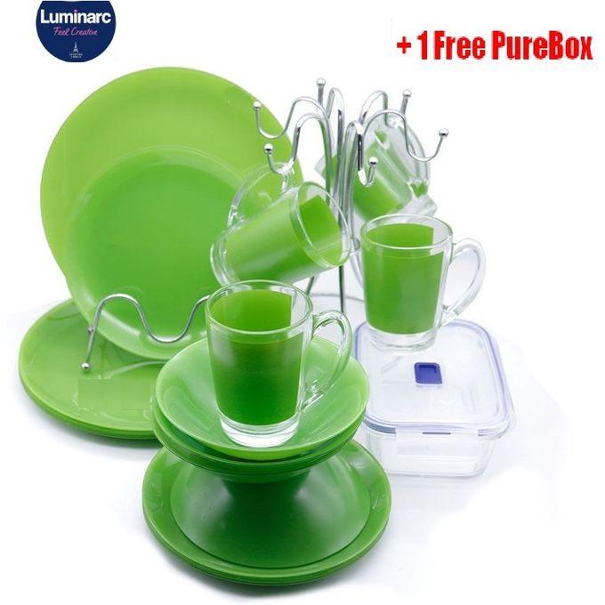 Luminarc Simply Bold Dinner Set 16pc 1pc Green Best Price Online Jumia Kenya