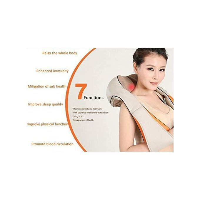 All New Deep Neck Kneading Massager  Body Kneading Shoulder Neck Back 1 BellyShiatsu Massager Healing and Relaxing