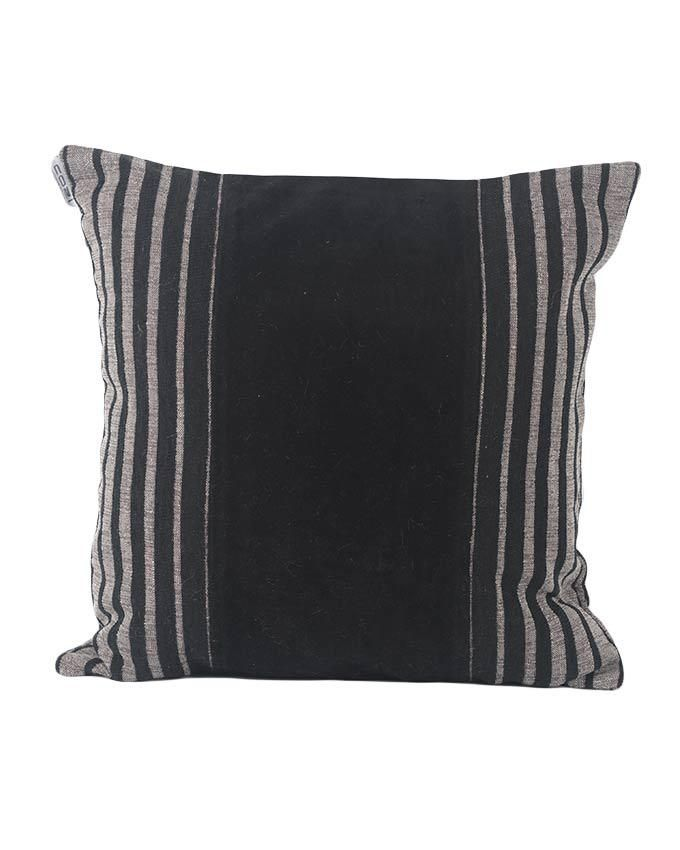 Throw Pillow Jumia : Sirocco Black Decorative Pillow with Stripes - Medium Buy online Jumia Kenya