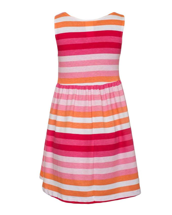 H&m Multicolored Striped Dress