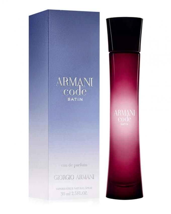giorgio armani armani code satin for women edp 75ml. Black Bedroom Furniture Sets. Home Design Ideas