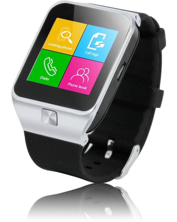 Smartwatch S28 1 54 Quot Smart Watch Phone Silver Buy