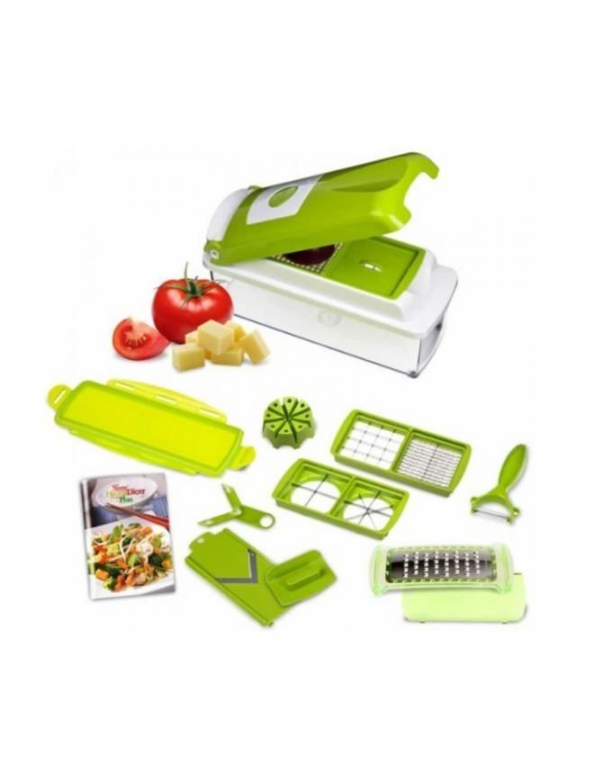 Genius Multi Function 11 In 1 Vegetable Chopper Cutter