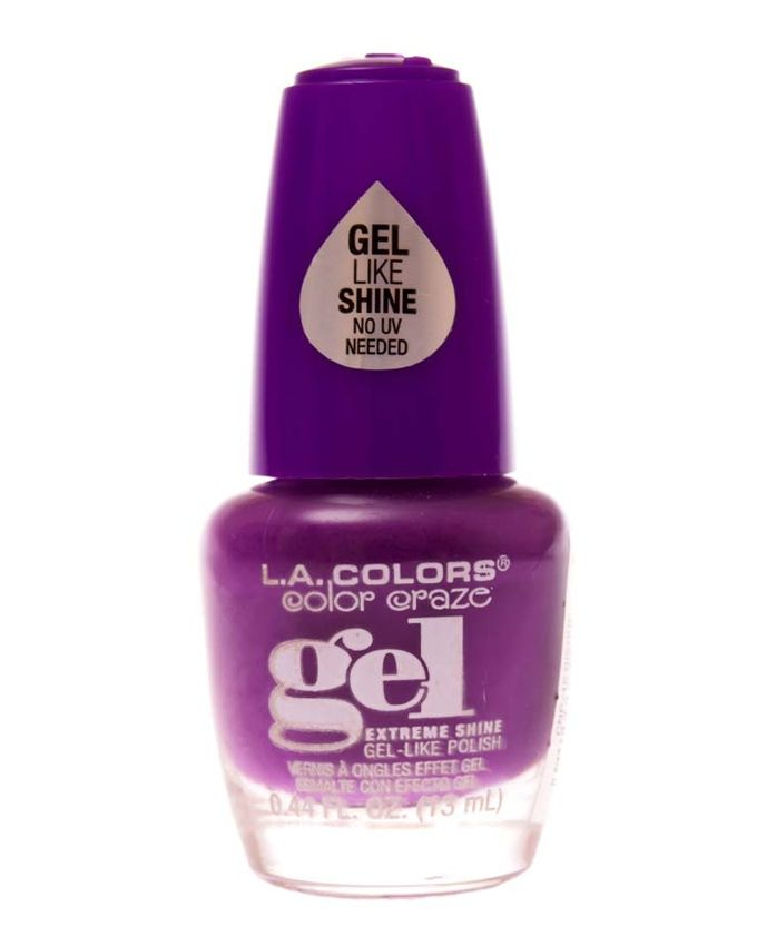 L.A. Colors Extreme Shine Gel Like Polish-Risque