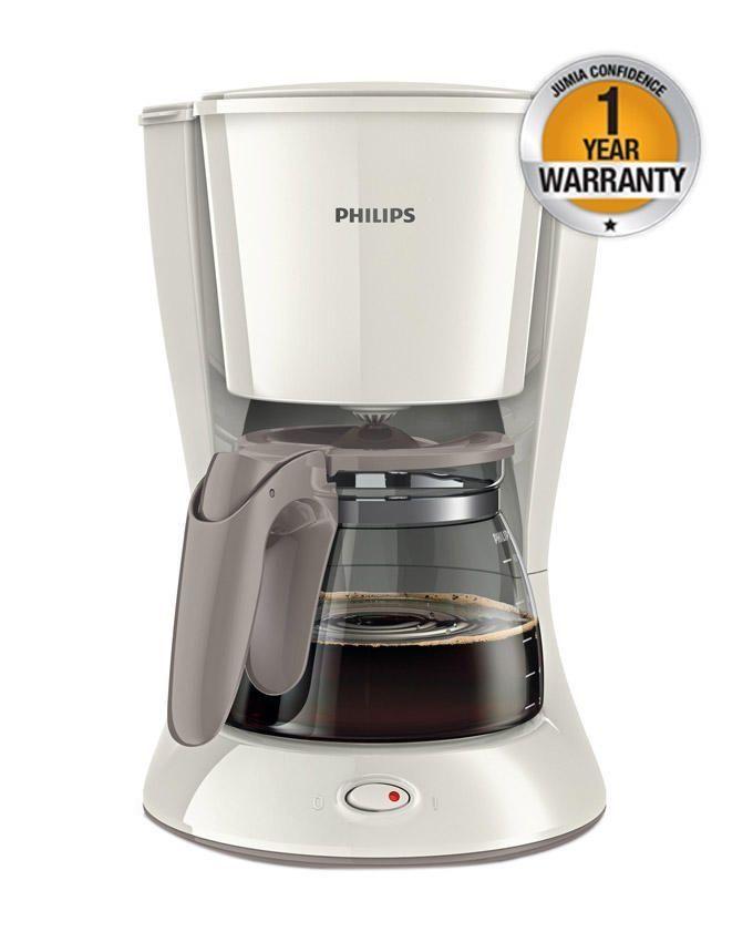 Philips HD7447 - Coffee Maker - 900W - 1.3Litre - White Buy online Jumia Kenya