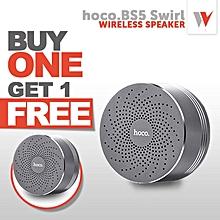 (BUY 1 TAKE 1) Hoco. BS5 Bluetooth 2.1 Swirl Wireless Speaker Support Hands-free Mic / TF Card / Aux-in LBQ