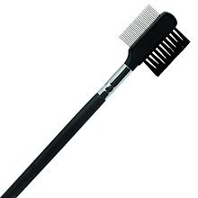 Eyebrow Eyelash Dual-Comb Extension Brush Comb Cosmetic Makeup Tool-Black