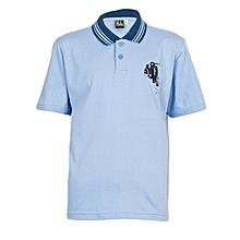 Blue Short Sleeved Boys T-Shirt