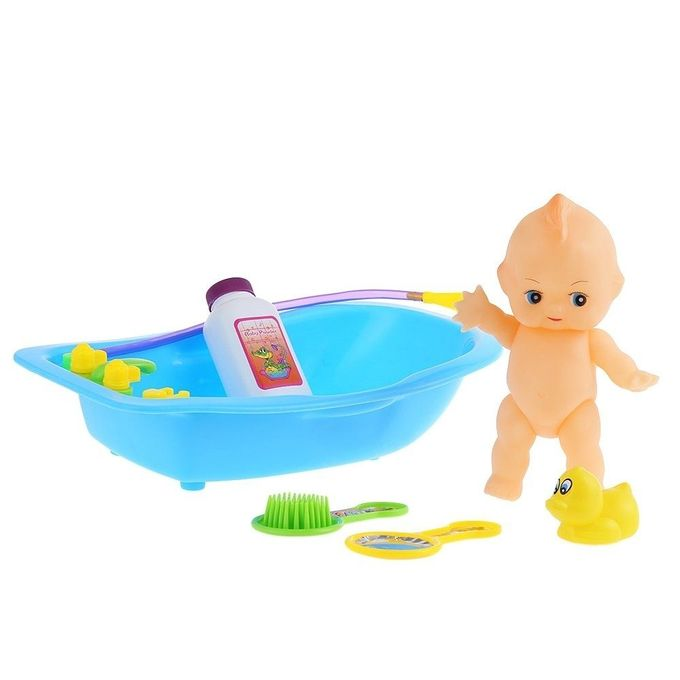 generic simulated infant bathing bathtub early baby educational toy play set buy online. Black Bedroom Furniture Sets. Home Design Ideas