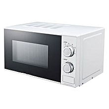 20L - Manual Microwave - White