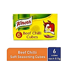Cube Beef Chilli - 8.5g (Pack of 6)
