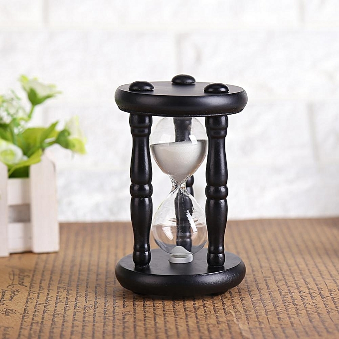 Buy UNIVERSAL 15 Minutes Wooden Sand Glass Timer Clock Hourglass Toy ...