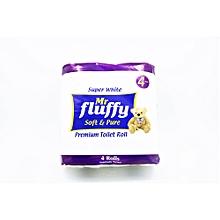 Toilet Paper Super Soft & Gentle Tissue 4 Rolls (200 sheets)