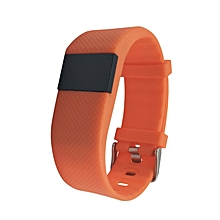 TLW64A Bluetooth Smartband Waterproof Heart Rate Monitoring Smart Bracelet orange
