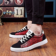 bluerdream-Fashion Men Walking Sport Shoes Casual Sneakers Running Shoes Red/39-Red_CN SIZE