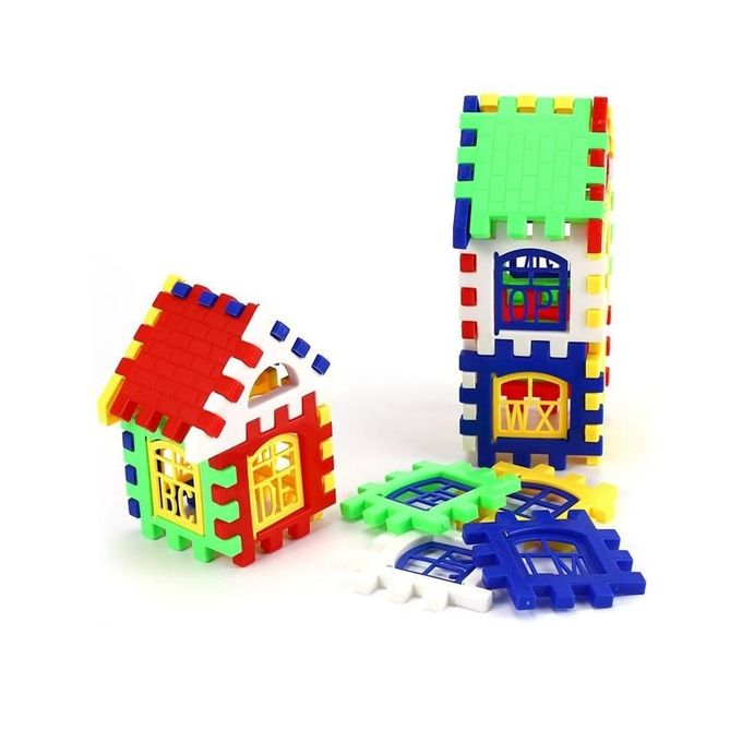 Brain Development Toys : Generic children diy house building blocks construction
