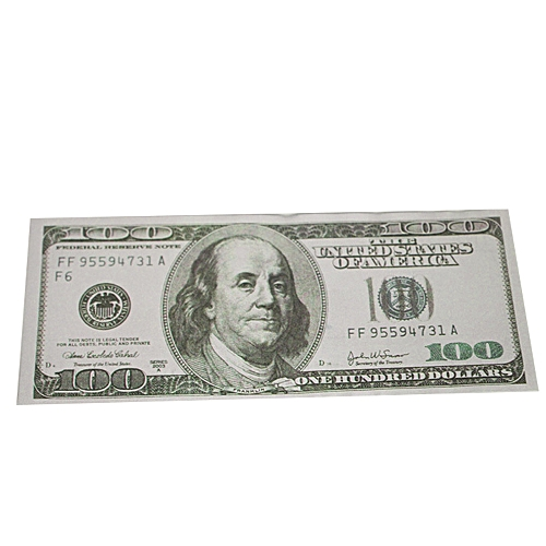 Originals Play Money Prop Money Copy Money Double Sided Print 100