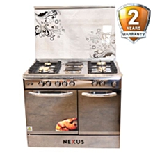 NX-8006ES 4 Gas +2 Electric Cooker - Silver