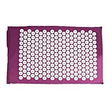 Yoga Pad Acupressure Massager Mat - Purple