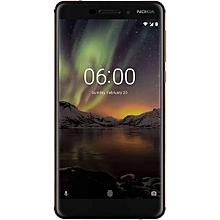 "6.1 (2018)– 5.5"" - 32GB ROM – 3GB RAM – 16MP Camera – Dual SIM – Black Copper"