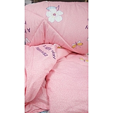 4PC Duvet Set - 4x6 - Pink