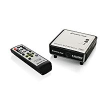 Long Range Wireless 5x2 HDMI Matrix PRO Receiver - Black & Silver