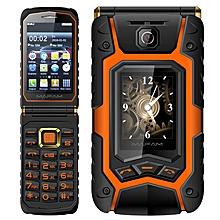 MAFAM X9 Land Flip Phone 2500mAh 3.5''  Dual Touch Screen Bluetooth Dual SIM FM Flip Feature Phone