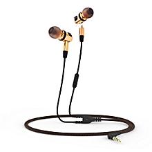 X46M Detachable HiFi Earphones With MIC(GOLDEN)