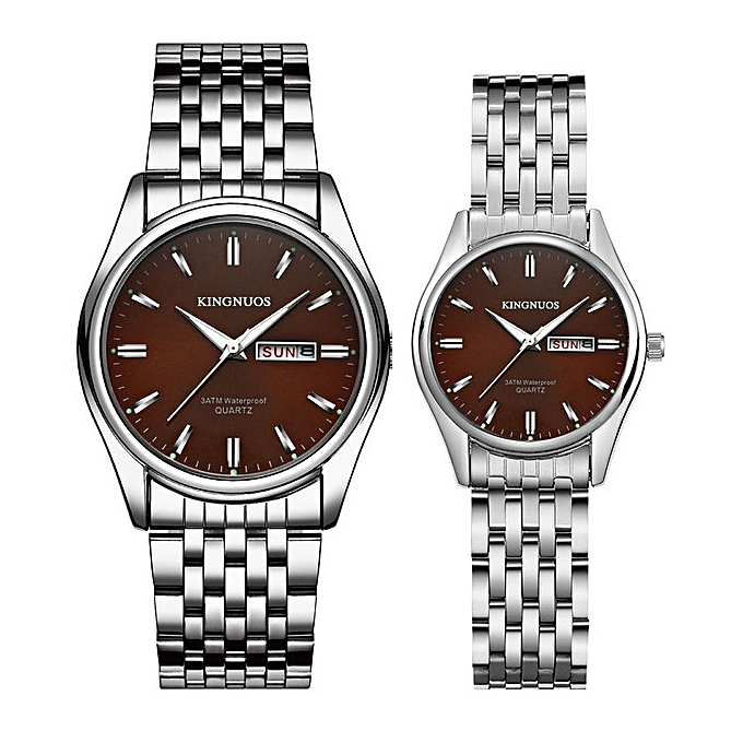 acc07be45b6 1 Pair 2018 New Brand Luxury Lover Watches Week Date Watch Men Women  Watches Quartz Couples