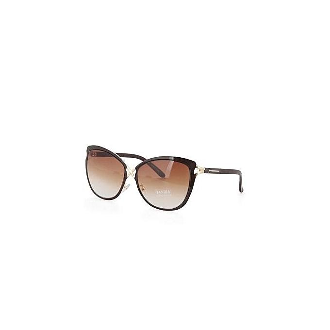 Buy Fashion EOZY Retro Women Large Frame Sunglasses Ladies ...