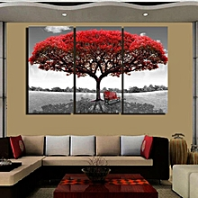 Large Red Tree Canvas Modern Home Wall Decor Art Painting Picture Print No Frame # 40*60cm