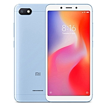 Redmi 6A, 2GB+16GB, Global Official Version, Face Identification, 5.45 inch MIUI 9.0 Helio A22 Quad Core up to 2.0GHz, Network: 4G(Blue)