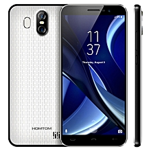 HOMTOM S16, 2GB+16GB, Dual Back Cameras, Fingerprint Identification, 5.5 inch Android 7.0 MTK6580 Quad Core up to 1.3GHz, Network: 3G, Dual SIM, OTA(White)