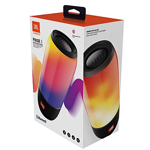 Portable Bluetooth Speaker Pulse 3 Black