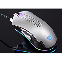 9022 RGB WIRED GAMING MOUSE programmable dota2,cs go,overwatch,league of legend,mobile legend,pc gaming WWD