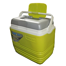 Cooler Ice Box 32 Litres - Green & Grey