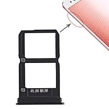 2 x SIM Card Tray for Vivo X9s Plus(Black)